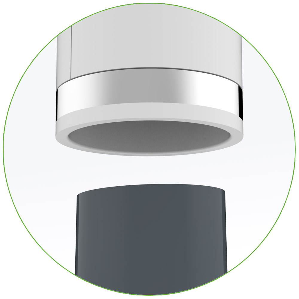 Adaptateur pour différents diamètres d'aspirateurs